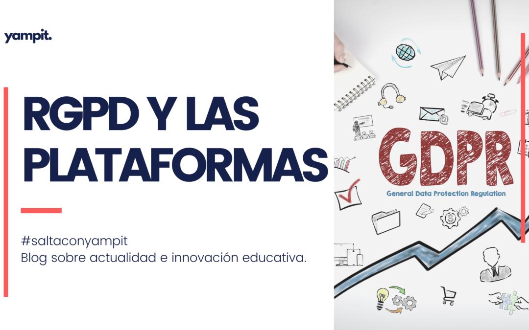 RGPD y las Plataformas Educativas