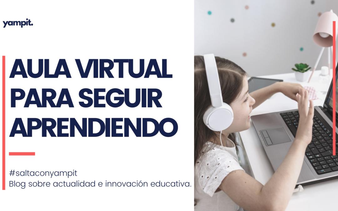 Aula virtual para educación